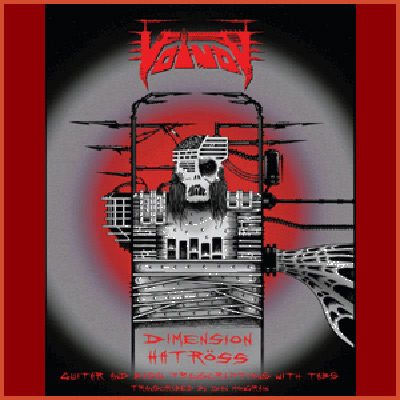 Voivod Dimension Hatross song book