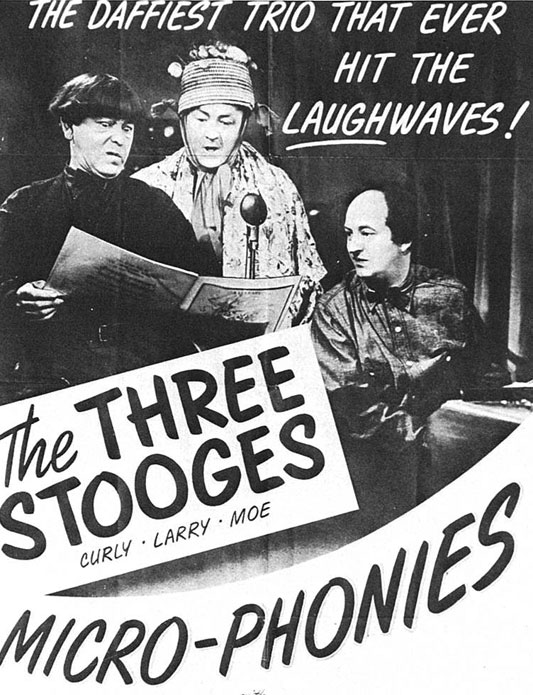The Three Stooges: Micro-Phonies