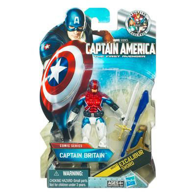 Captain America Movie Action Figure - Captain Britain