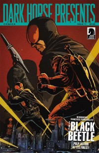 Dark Horse Presents #11 (Black Beetle Cover) by Francesco Francavilla