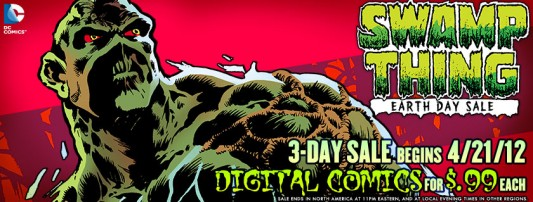Swamp Thing Earth Day Sale