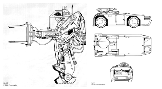 Aliens Colonial Marines Technical Guide Sketches