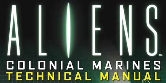 Aliens Colonial Marines Technical Manual Title