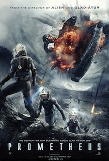 Prometheus New Theatrical Poster