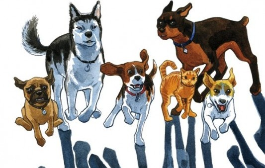 Beasts of Burden Header by Jill Thompson