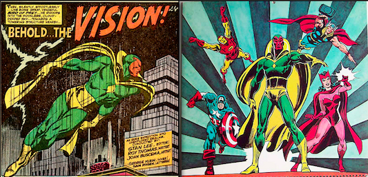 The Avengers Vision