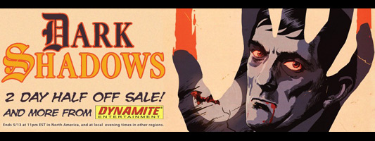 Dynamite Dark Shadows comics