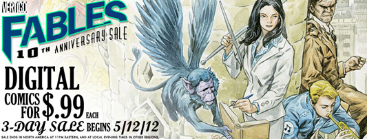 Fables 10th Anniversary