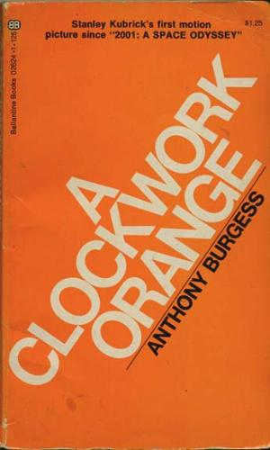A Clockwork Orange book