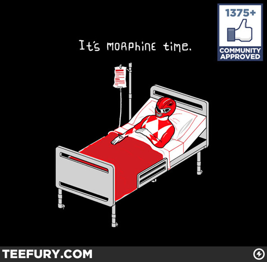 Power Rangers It's Morphine Time