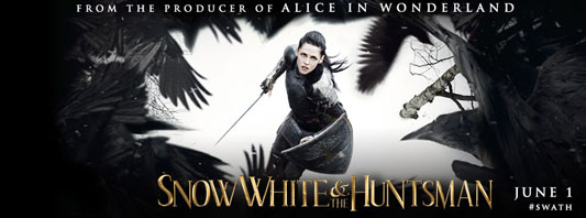 Snow White and the Huntsman Facebook cover photo