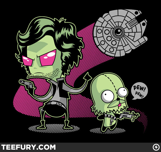 Star Wars Invader Zim In(Vader) Zolo
