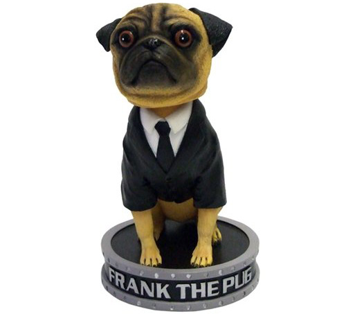 MIB Frank the Pug Bobble Head Statue