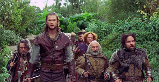 Snow White and the Huntsman and Dwarves