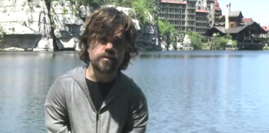 Game Of Thrones Star Peter Dinklage Leads 2012's Walk for Farm Animals