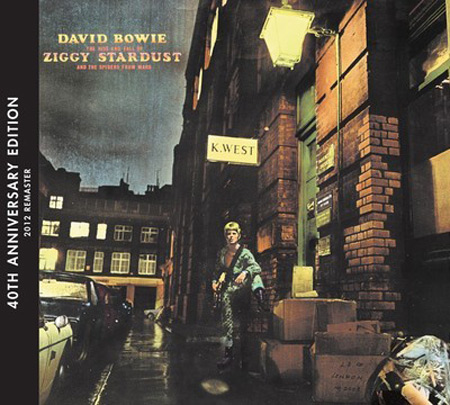 David Bowie The Rise And Fall Of Ziggy Stardust And The Spiders From Mars 40th anniversary