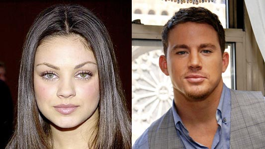 Mila Kunis and Channing Tatum