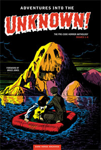 Dark Horse Archives: Adventures Into The Unknown, Vol. 1 cover