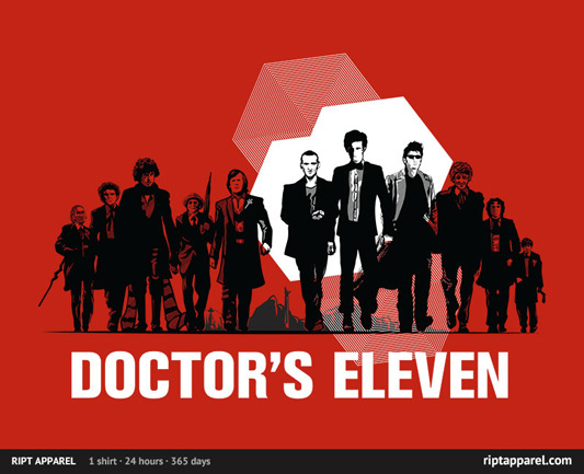 Doctor Who Doctor's Eleven