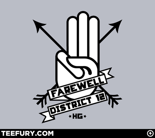 Geek Gear The Hunger Games Farewell District 12 Shirt