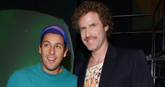 Adam Sandler and Will Ferrell