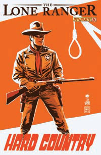 Dynamite Entertainment: The Lone Ranger #6 cover