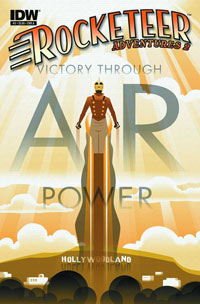 IDW Publishing: Rocketeer Adventures, Vol. 2 #3 cover