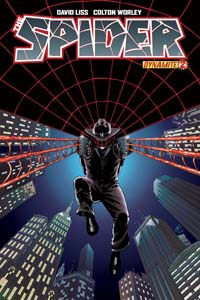 Dynamite Entertainment: The Spider #2 cover