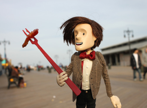 Doctor Who puppet - Coney Island