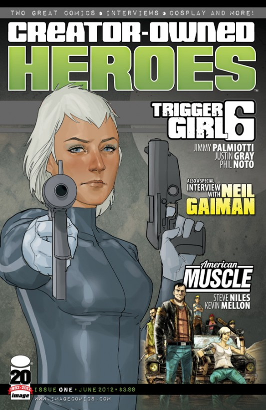 Creator Owned Heroes by Phil Noto and Kevin Mellon
