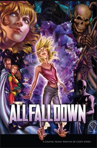 Arcana Comics: All Fall Down cover