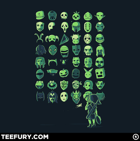 Legend Of Zelda The Mask Collector Shirt
