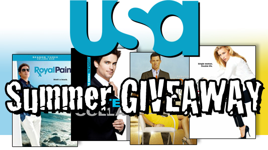 USA Network Summer Prize Pack giveaway