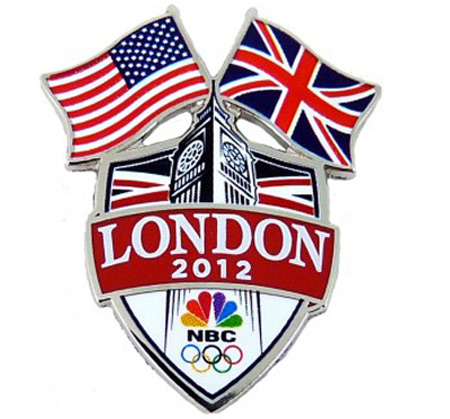 NBC Olympics London 2012 pin