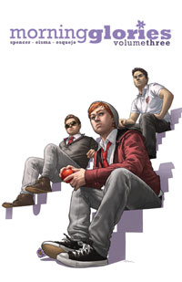 Morning Glories Volume 3 cover