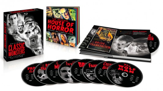 Universal Classic Monsters: The Essential Collection Contents