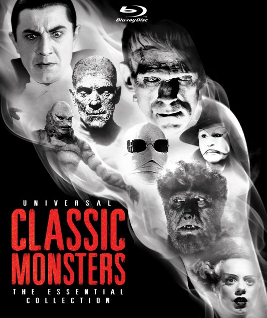 Universal Classic Monsters: The Essential Collection Box Art