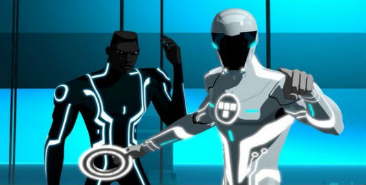 Tron Uprising: Characters Cutler and Beck