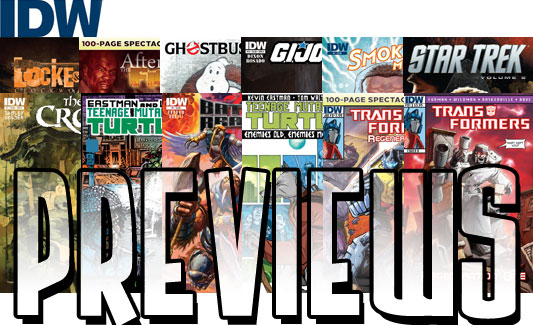 IDW Previews, July 11, 2012