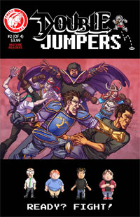 Action Lab Comics: Double Jumpers #2