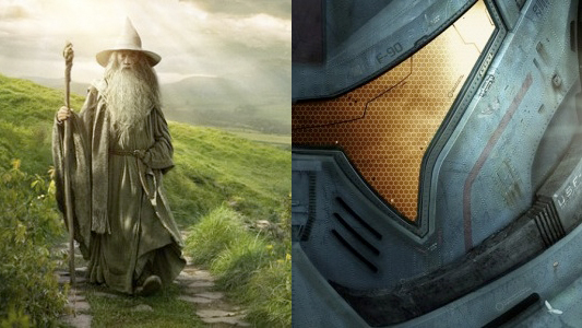 2012 San Diego Comic-Con Exclusive Posters for The Hobbit and Pacific Rim