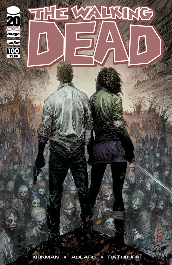 The Walking Dead #100 Cover B Marc Silvestri