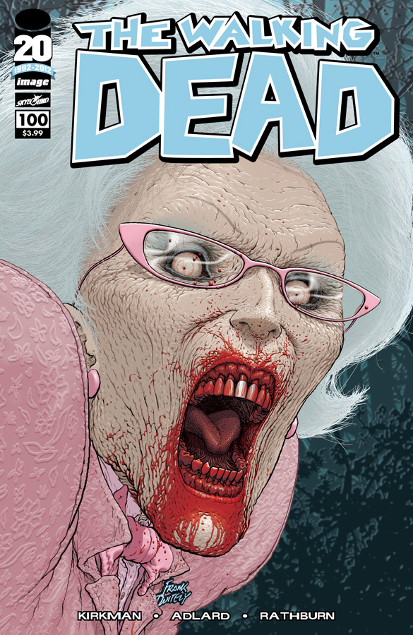 The Walking Dead #100 Cover C Frank Quitely