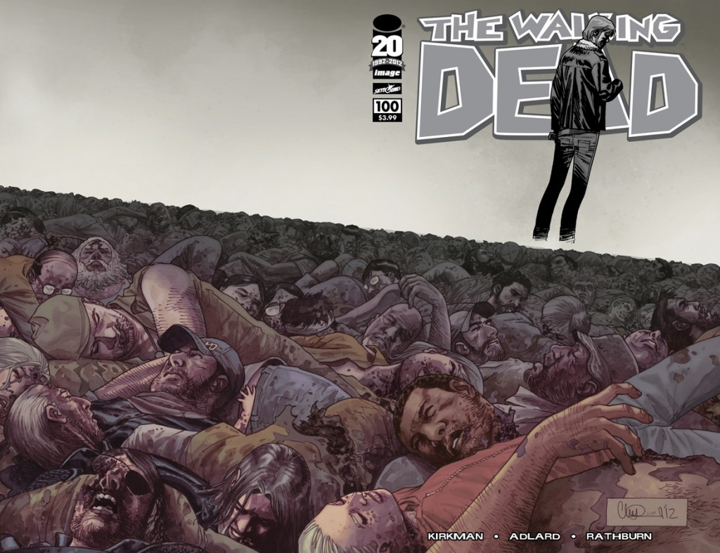 The Walking Dead #100 Cover H Charlie Adlard