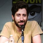 SDCC 2012: Big Bang Theory panel: Simon Helberg