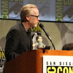 SDCC 2012: Big Bang Theory panel: moderator Adam Savage