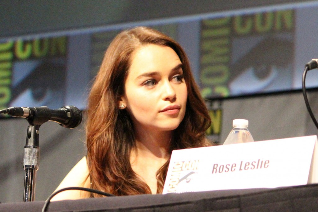 SDCC 2012: HBOs Game of Thrones panel: Emilia Clarke