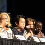SDCC 2012: The Walking Dead panel: Laurie Holden, Steven Yeun, Lauren Cohan, Danai Gurira