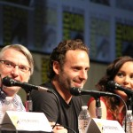 SDCC 2012: The Walking Dead panel: Glen Mazzara, Andrew Lincoln, Sarah Wayne Callies