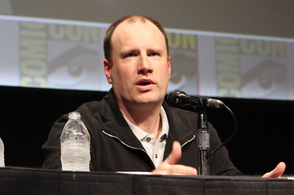 SDCC 2012: Marvels Iron Man 3 panel: Marvel Studios President of Production Kevin Feige